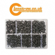 690pc Screw Set, Black